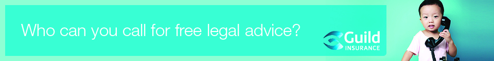 Who can you call for free legal advice? Guild Insurance